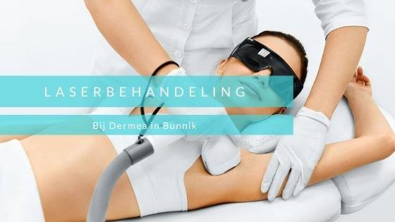Advertentie Lasertherapie Dermea